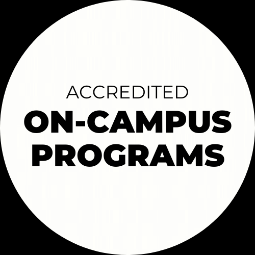 accredited on-campus programs